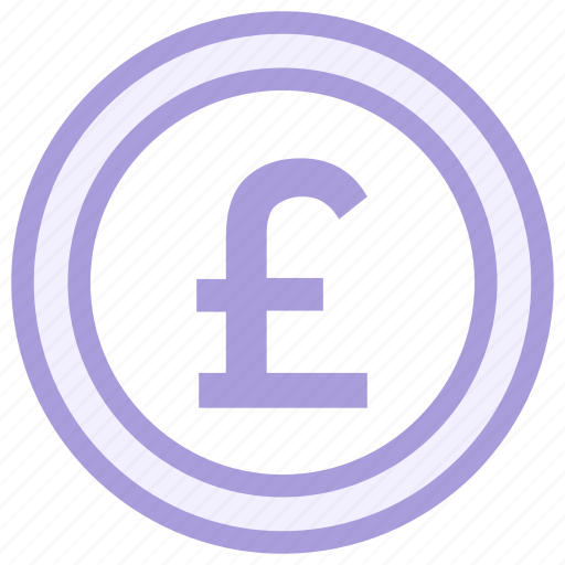 coin, pound, sterling icon icon