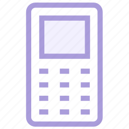 mobile, old, phone icon icon