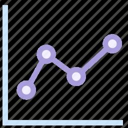 finance, graph, marketing, money icon icon