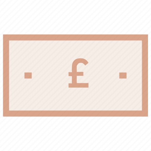 cash, coin, money, pound, sterling icon icon