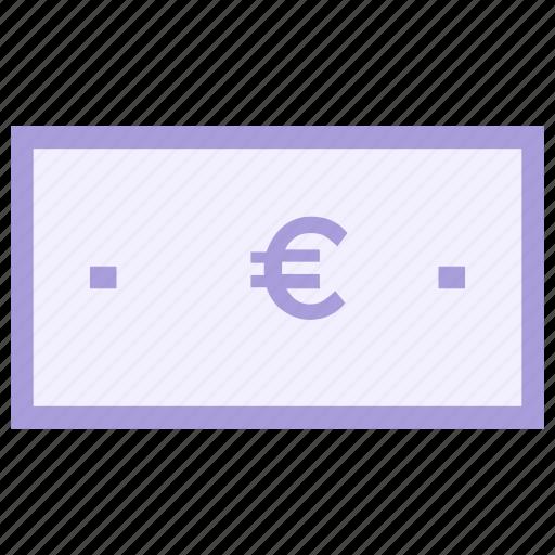 cash, coin, euro, europe, money icon icon