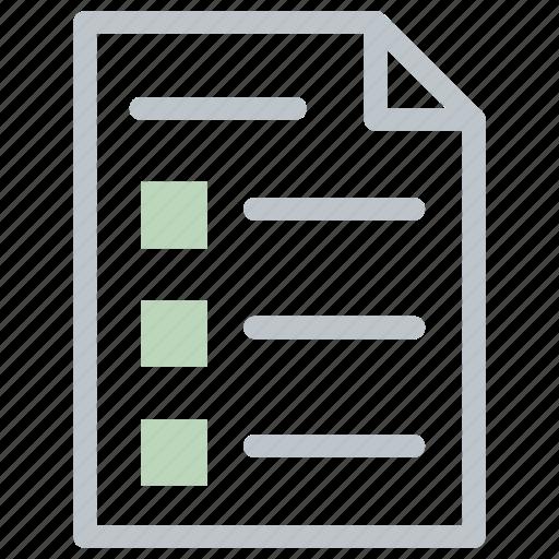 checklist, clipboard, inventory, list, report, tasks, todo icon icon