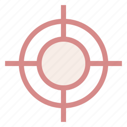goal, objective, target icon icon