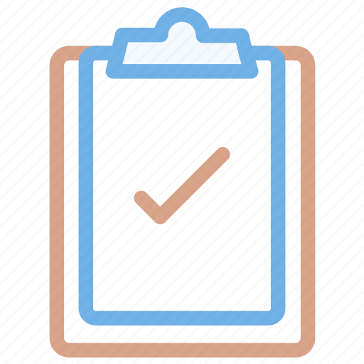 checklist, clipboard, creative, document icon icon