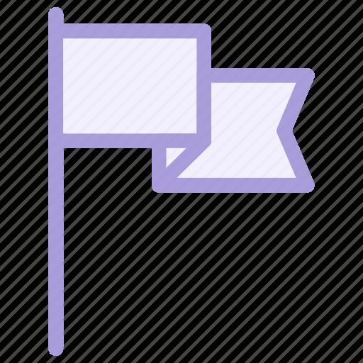 area, flag, location, pin, sport, success, waving icon icon