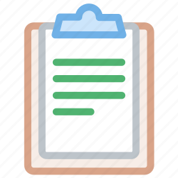 clipboard, pencil, track, write icon icon