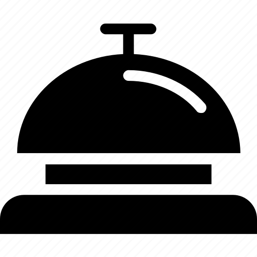 bell, hotel, service, travel icon icon