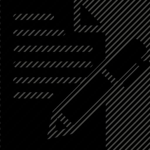 contract, feedback, form inquiry icon icon