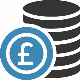 .svg, coin, pound, sterling icon icon