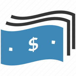 cash, finance, money, notes icon icon