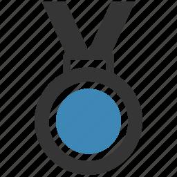 badge, gold, medal, prize, reward, trophy icon, • award icon
