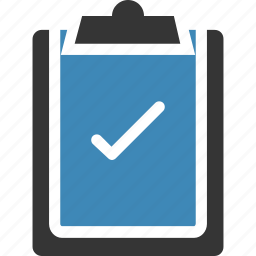 .svg, checklist, clipboard, creative, document icon icon