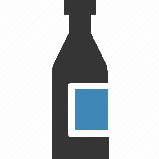 bottle, drink, soda, water icon icon