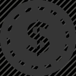 .svg, coin, dollar, money, sign icon icon