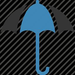 .svg, insurance, parasol, protection, rain, shield, umbrella icon, • canopy icon