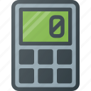 calculate, calculator, education, electronic, finance, financial icon