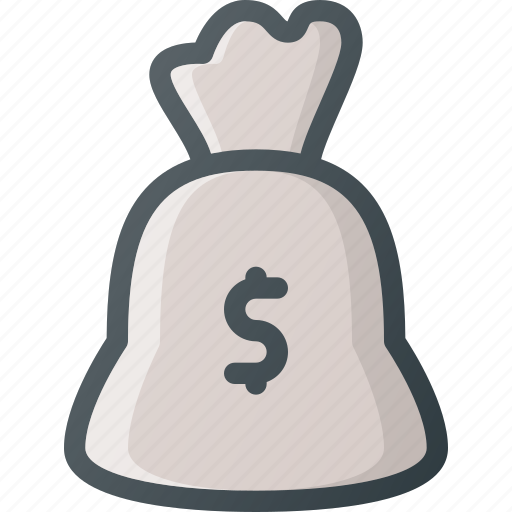 bag, bank, cash, dollar, money icon