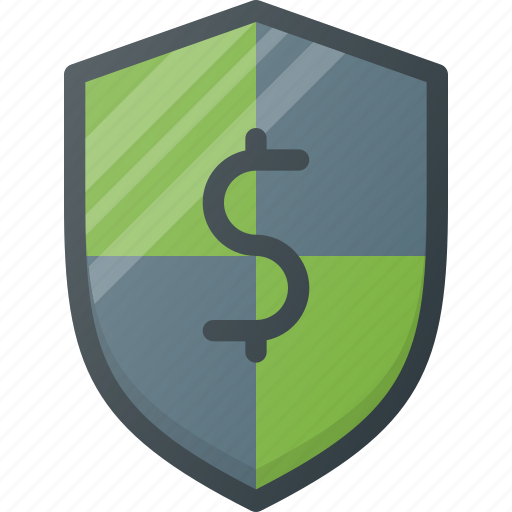 finance, financial, insurance, protection, security, shield icon