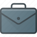 case, office, luggage, work, brief, suitcase icon