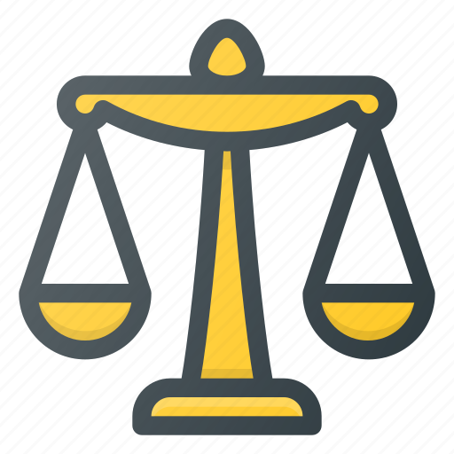 Balance, equal, equality, justice, scale, weight icon - Download on Iconfinder