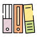 binder, business, finance, office icon