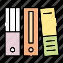 business, binder, finance, office