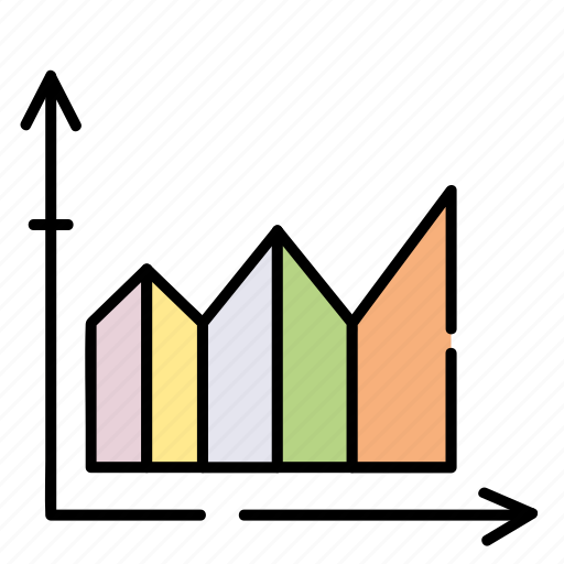 analytics, business, chart, finance, graph icon