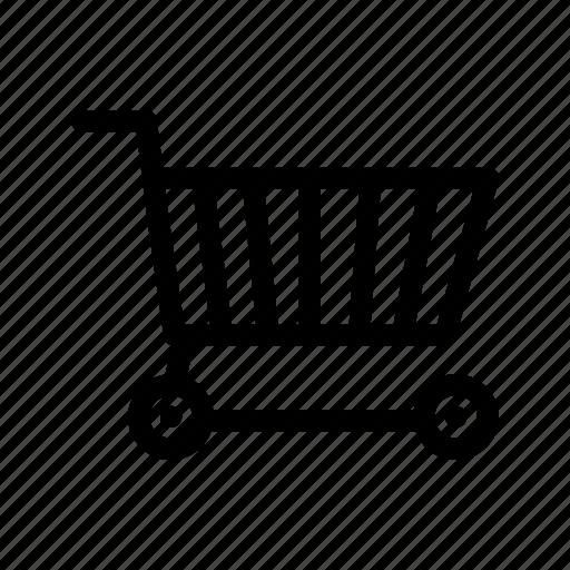 buggy, buy, caddy, cart, shopping, shopping cart, trolley icon