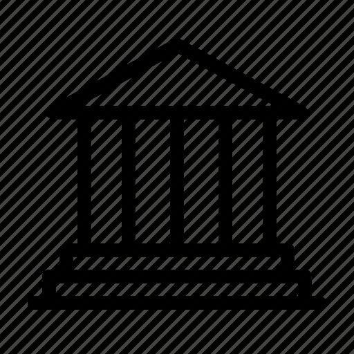 bank, banking, business, establishment, finance, institution, money icon