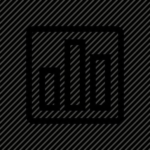 bar, bar chart, bargraph, chart, sales, statistics, trend icon