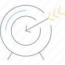 circular target, dart, dart board, darts, goal, target icon