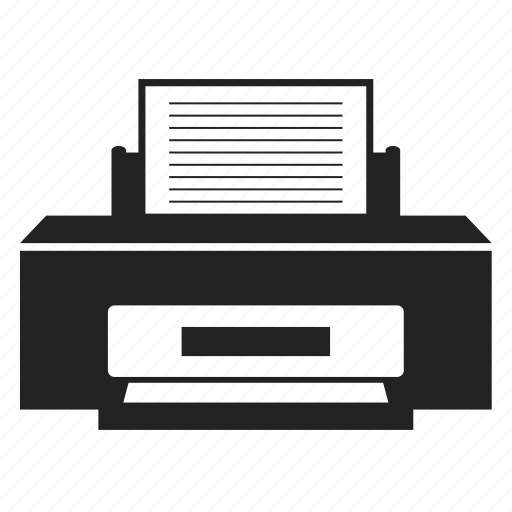 document, file, page, paper, print, printer, sheet icon