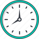 clock, time, wall clock icon