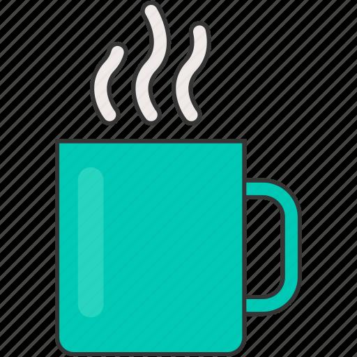 breakfast, coffee, cup, hot, mug, tea icon