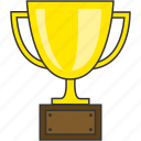 award, prize, success, trophy, win icon