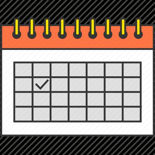 calendar, day, deadline, event, management, schedule icon