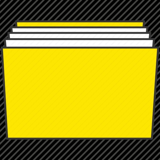 computer, document, file, folder, pc icon