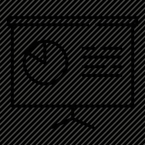 analytics, business, report icon