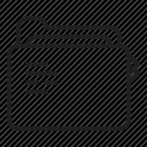 business, document, file, folder icon