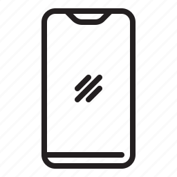 business, iphone x, mobile, phone icon