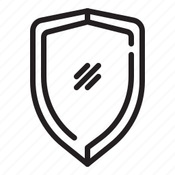 business, protection, secure, shield icon