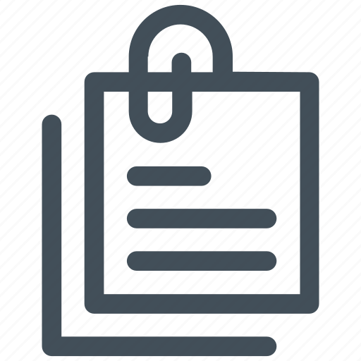 note, notes, pin, pinned, postit icon icon