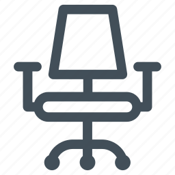 chair, furniture, office, seat icon icon icon