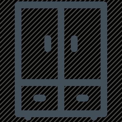 cabinet, equipment, furniture, office, wardrobe icon icon