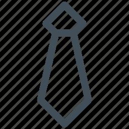 business, necktie, office, tie icon icon