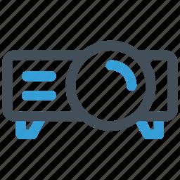 beamer, presentation, projector icon icon