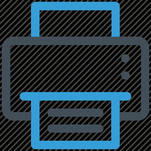 output, print, printer icon icon