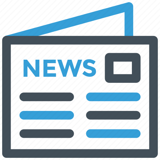 news, newspaper, paper icon icon