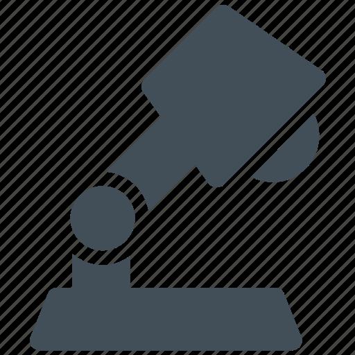 desk lamp, lamp icon icon