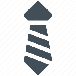 fashion, formal tie, necktie, tie, uniform tie icon icon icon